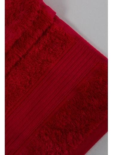 Jua Solid Havlu 50*90 Kırmızı